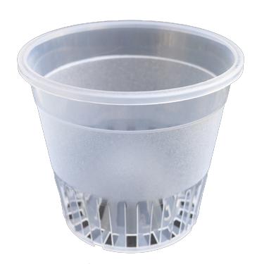 Plastic Pots - Clear Orchid Pot