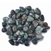 Marble Green Pebbles - Polished
